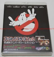 Ghostbusters 1 & 2 35th Anniversary Limited Edition 3 Blu-ray Japan BPBH-1222