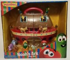 New VeggieTales Noah's Ark Play Set Red Toy Figure Christmas Veggie Tales Gift