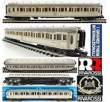 RIVAROSSI 9616 VINTAGE RARO VAGONE LETTO CIWL ORIENT EXPRESS CAIRO-LUXOR SCALA-N