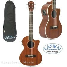 LANIKAI LMACET MAHOGANY SERIES *new model* TENOR ACOUSTIC/ELECTRIC UKULELE