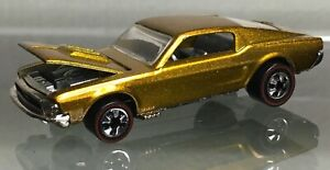 MINT LOOSE 1994 Hot Wheels Vintage Collection Redline gold Custom Ford Mustang