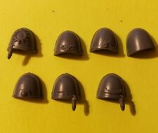Warhammer 40k Space Marine Bits: Tactical Squad Decorated Shoulder Pads X7