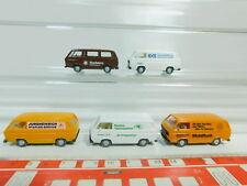 BO573-0,5 #5x Wiking H0/1:87 Trasportatore VW T3:Jungheinrich+Siemens Ecc. ,