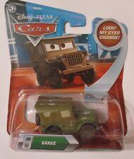 Disney Pixar Cars SARGE Look my EYES change series NEW