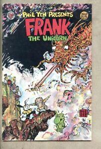 Frank The Unicorn #8-1988 fn- 5.5 Indie / low print run Phil Yeh Patrick Rabbit