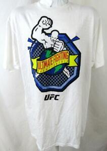 """UFC Mens X-Large Short Sleeve Screened """"ULTI-MAN OCTAGON"""" T-shirt UFC 132"""
