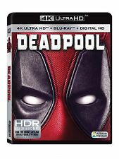 DEADPOOL (4K Ultra HD+ Blu-ray+ Digital HD) Brand New Sealed - Ryan Reynolds NEW