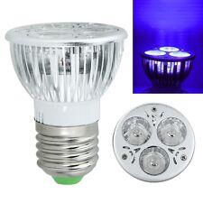 3W 85-265V/12V E27/UV LED Ultraviolet Purple Bulb light Spotlight Lamp Fine