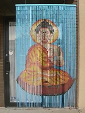 IG 101 Buddha Bamboo Screen for Door New Hand Painted