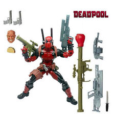 "6"" Marvel Legends Action Figures Deadpool Hasbro X-men Doll Accessories Toy Rare"
