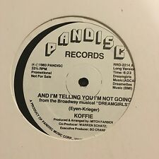 "Koffie-And I'm Telling You I'm Not Going-12""-Dreamgirls"