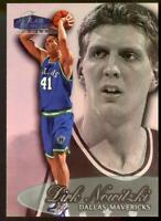 1998-99 Flair Showcase Row 3 #16 Dirk Nowitzki Dallas Mavericks Rookie Card