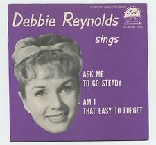 Debbie Reynolds 1959 Dot 45rpm Am I That Easy To Forget b/w Ask Me To Go Steady