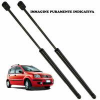 52/1165 2 MOLLE A GAS PISTONCINI COFANO POSTERIORE FIAT PANDA 169 DA 2003 A 2012