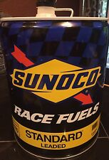 Sunoco Race Fuels Can 5 Gallon Man Cave Garbage Can Garage
