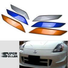 Fit For NISSAN 350Z Z33 FAIRLADY Z COUPE EYEBROWS EYELIDS 03-08 PAINTED
