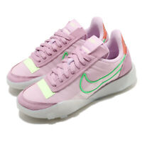 Nike Wmns Waffle Racer 2X Light Arctic Pink Green Women Casual Shoes CK6647-601