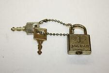 Small Jaguar Padlock - Working with 2 Keys