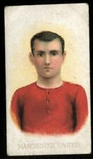 More details for tobacco card,wd & ho wills scissors,football club colours,1907,manchester united