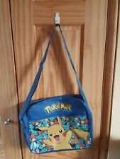 Boys Mens Kids Pokemon Pikachu Cross Body Messenger Book School Shoulder Bag