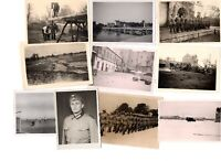 *Bargain Lot* Lot Of 10 WWII German Photos Eastern Front Wehrmacht Soldiers L6