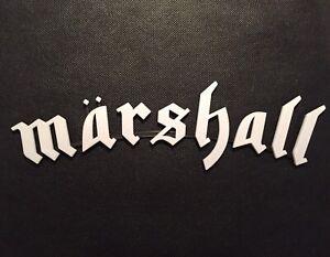 Motorhead Style Amplifier Badge Emblem Guitar Amp Cab Logo Sign For Marshall