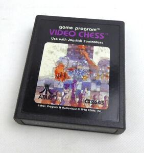 Atari 2600 Spiel -- VIDEO CHESS (PAL) picture label -- Atari VCS