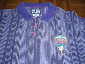 VINTAGE ARIZONA DIAMONDBACKS 1998 INAUGURAL SEASON COLLARED SHIRT - SIZE EX