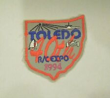 Vintage Toledo 40th R/C Expo 1994 Model Show Souvenir  Iron On Patch - Style 2