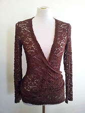 Effortless Style! M.E.L size S wrap top and tank in excellent condition