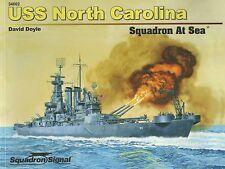 USS North Carolina Squadron at Sea by Squadron / Signal 34002