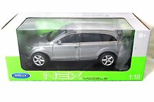 WELLY AUDI Q7 GREY 1/18 DIECAST MODEL CAR  18032