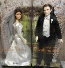 NEW BARBIE TWILIGHT SAGA BREAKING DAWN PART 1 BELLA & EDWARD WEDDING SET DOLLS