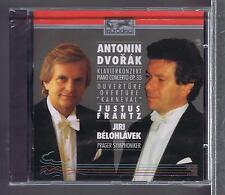 DVORAK CD NEW PIANO CONCERTO OP 33/ OUVERTURE JUSTUS FRANTZ/ JIRI BELOHLAVEK