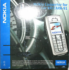 Nokia Pop-Port Adapter CA-55 für Car Kit CARK-91 original Nokia Zubehör