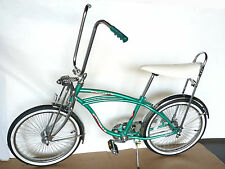 "20"" Lowrider Complete W/ 68 spoke Bike Steel Bicycle Green"