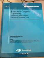 Advances in Cryogenic Engineering 59A - Volume 1573 Conference Collection