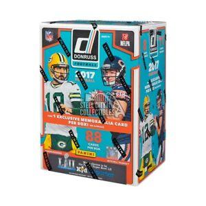 2017 Panini Donruss Football 11ct Blaster Box