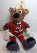 "Japan Kashima Antlers Professional Football League Plush Mascot doll 13""H"
