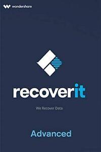 Wondershare Recoverit Advanced MAC Download Lebenslange Lizenz für 2 PC