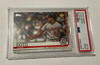 2019 Topps Juan Soto PSA 9 Mint Rookie BATTING 🔥🔥 Invest!