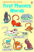 First Phonics Words (Very First Reading) by Mairi Mackinnon, NEW Book, FREE & Fa