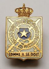 Insigne UFRACOL WW2 Congo Force Publique Abyssinia Nigeria Middle East