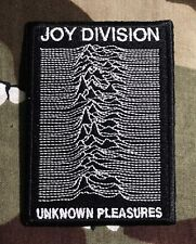 Joy Division Unknown Pleasures Embroidered Patch J016P Bauhaus New Order Christi