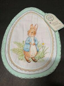 Pottery Barn Kid EASTER Peter Rabbit Beatrix Potter CHAIRBACKER Chair Treat NEW