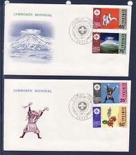 ASg/ Sénégal  enveloppe  1er jour    scouts  jamborée au Japon     1971
