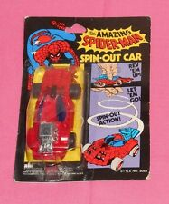 vintage ahi THE AMAZING SPIDER-MAN SPIN-OUT CAR MOC sealed