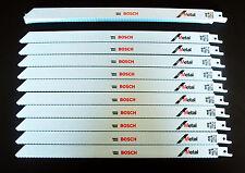 """20 BOSCH 12"""" RECIPROCATING SAW/SAWZALL BLADES 18TPI BI-METAL CUTS METAL RM1218"""