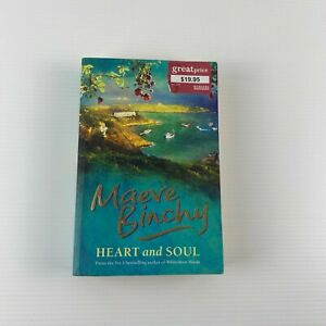 Heart and Soul By Maeve Binchy Domestic Fiction 2008 Large Paperback Book