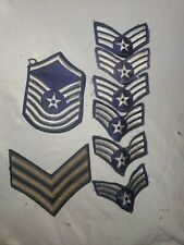 Lot of 8 Antique Vintage Old War Patches Star Stripes US ARMY MILITARY